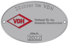 VDH Plakette 2012 klein